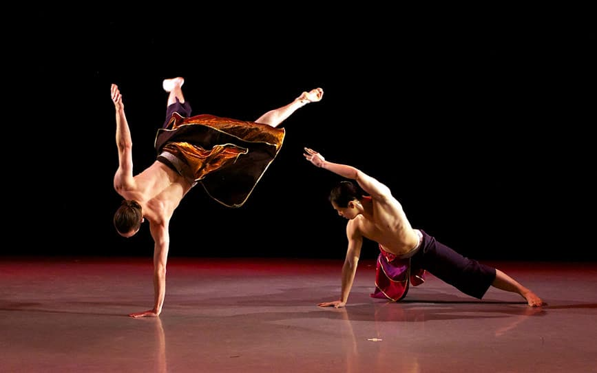 Nai-Ni Chen Dance Co. seeks MALE DANCERS - audition
