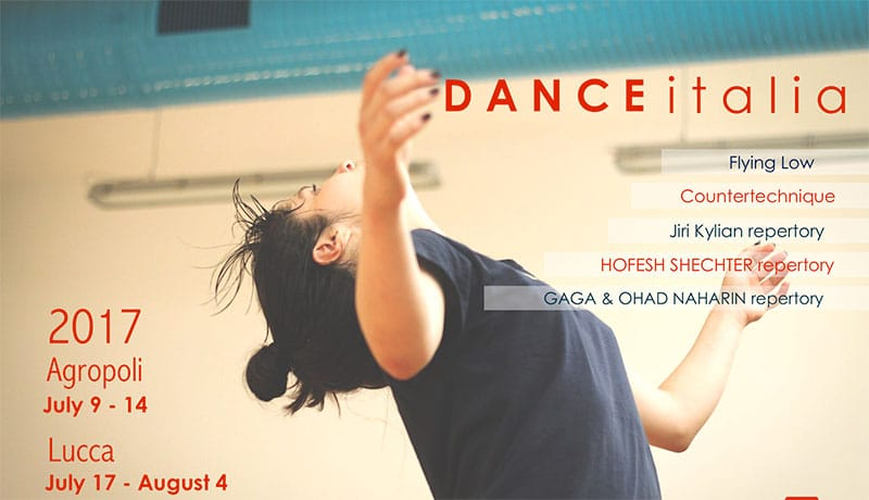 International Contemporary Dance Workshop – Dance Italia 2017