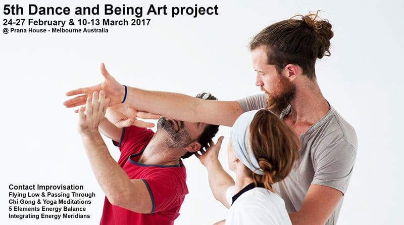 5th Dance and Being Art Project - workshop