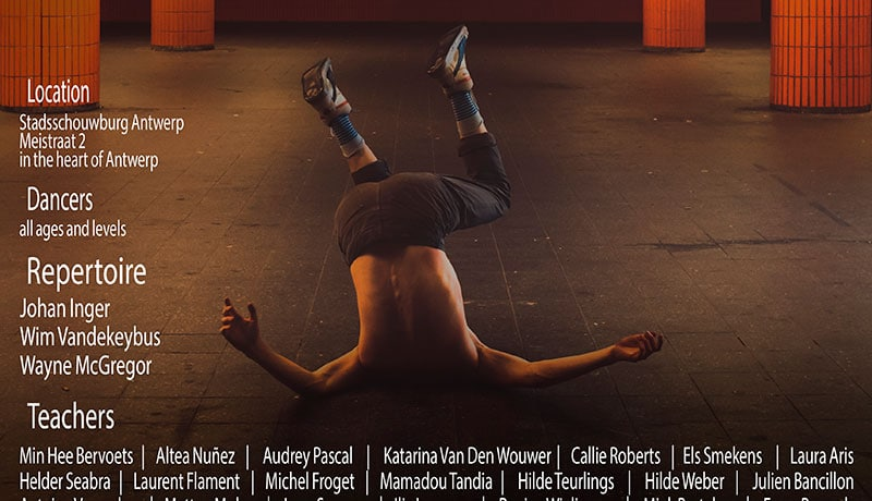 33rd Edition of International Dance Course Antwerp