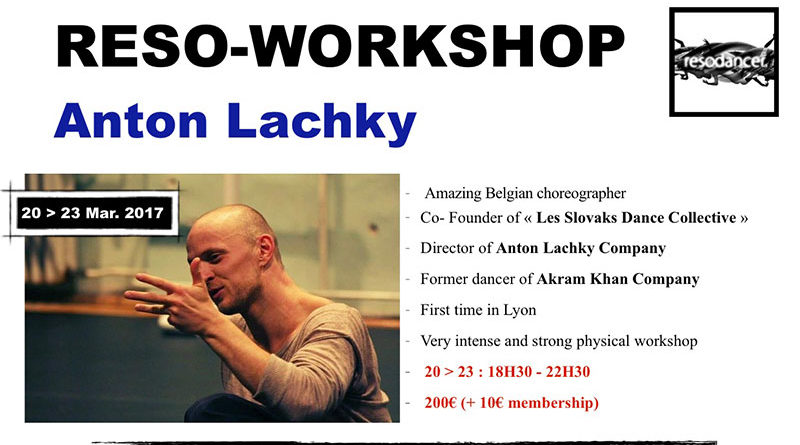 Reso-Workshop with Anton Lachky