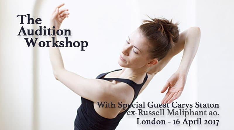 The Audition Workshop-London with​ Carys Staton