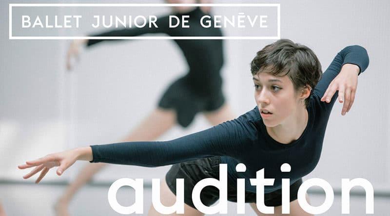 Ballet Junior de Genève Audition at Ecole de Danse de Genève