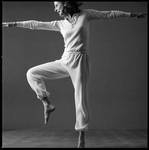 Photo: Trisha Brown, Locus solo. Photo © Lois Greenfield