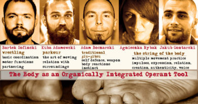 The Body as an Organically Integrated Operant Tool, an Intensive at the Grotowski Institute