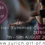 Art of – Ballet Summer Course ZURICH 2017