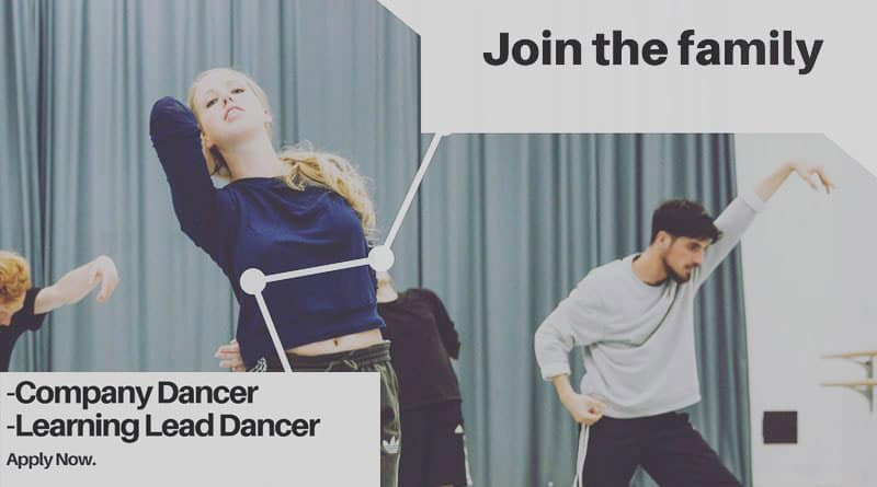 National Dance Company Wales is Looking for Female and Male Dancers