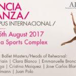 VIII International Ballet Campus in Valencia, Spain