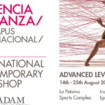 1st International Contemporary Dance Workshop in Valencia, Spain