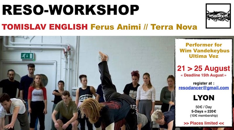 Reso-Workshop with Tomislav English, Fergus Animi // Terra Nova
