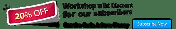20% Discount Workshop