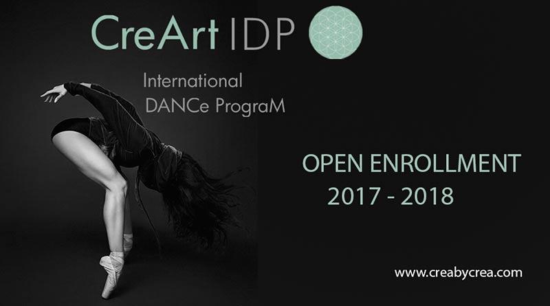 CreArt DANCe IDP International Dance Program 2017/18 Open Call Barcelona, Spain