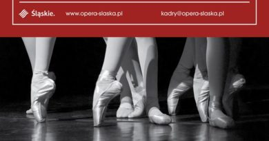 Ballet Company of the Silesian Opera is Looking for Male and Female Dancers