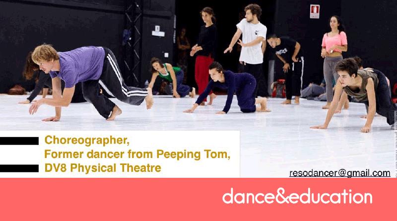 3 intense days of workshop with the Choreographer/ Dancer Jos Baker