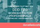 """DDD Pro"" Professional Dance Workshops in Porto (Portugal)"