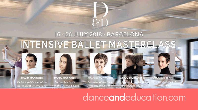 D&D INTENSIVE BALLET MASTERCLASS