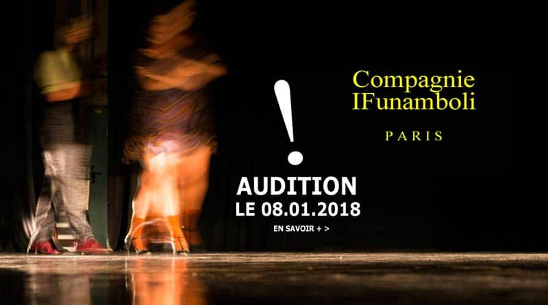 La Compagnie IFUNAMBOLI is Looking for 1 Male Dancer