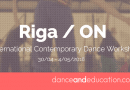 Riga / ON | International Contemporary Dance Workshop