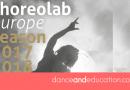 Choreolab Europe's Spring lab 2018 in Amsterdam